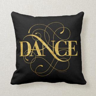 Dance Flourish Throw Pillow