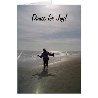 "DANCE FOR JOY ON ""30th"" BIRTHDAY Card"