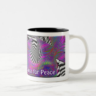 Dance for Peace Coffee Cup