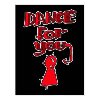 Dance For You Postcard