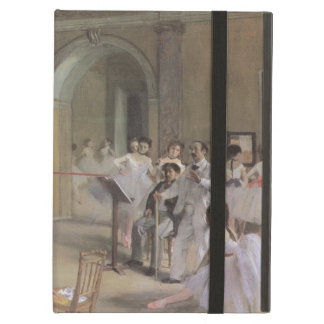Dance Foyer at the Opera by Degas, Vintage Ballet iPad Cover