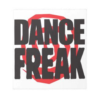 Dance Freak Note Pads