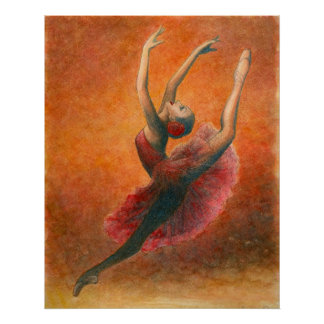 Dance (from Don kihote) art print of kitori