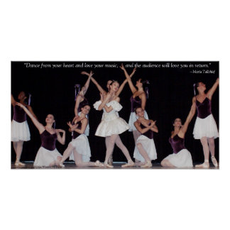 Dance From Your Heart Poster