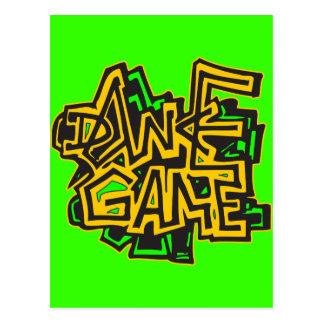 Dance Game Postcard