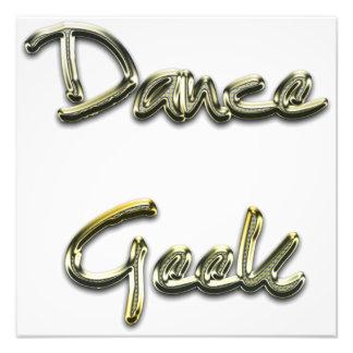 Dance Geek Gold Photograph