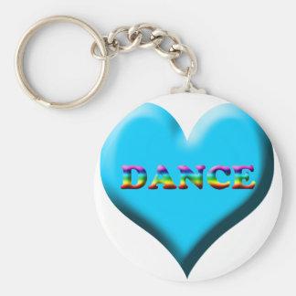 Dance! Gifts Basic Round Button Keychain