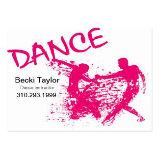 Dance Grunge - Choreographer Dancer Instructor Business Cards
