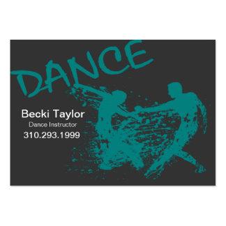 Dance Grunge - Choreographer Dancer Instructor Business Card