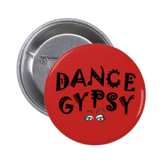 Dance Gypsy Button