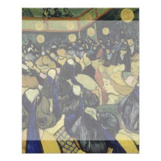 Dance Hall in Arles by Vincent Van Gogh Flyer