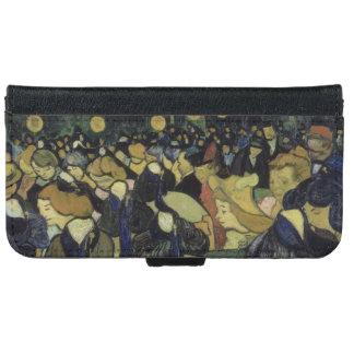 Dance Hall in Arles by Vincent Van Gogh iPhone 6 Wallet Case