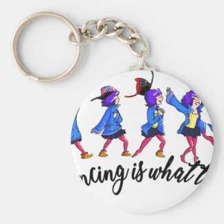 Dance hall is what to C Keychain