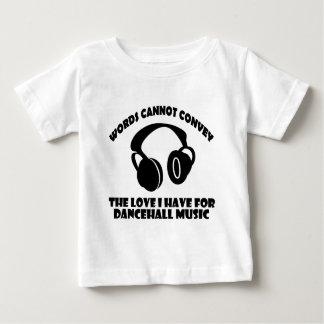 Dance hall Music designs Baby T-Shirt