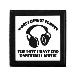 Dance hall Music designs Gift Box