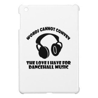 Dance hall Music designs iPad Mini Cases