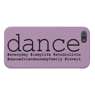 Dance Hashtags Case For iPhone SE/5/5s