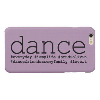 Dance Hashtags Glossy iPhone 6 Plus Case
