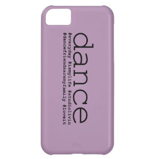Dance Hashtags iPhone 5C Covers