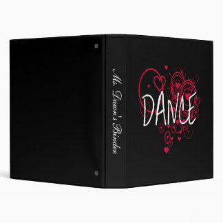 Dance Hearta Binder