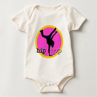 Dance - Hip Hop Girl Baby Rompers