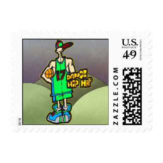 Dance Hip Hop Stamp