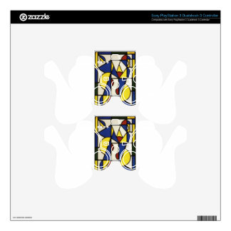 Dance I by Theo van Doesburg PS3 Controller Skin