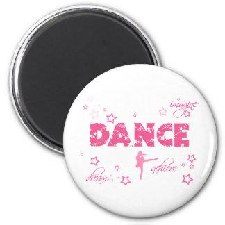 Dance Imagine Achieve Dream 2 Inch Round Magnet