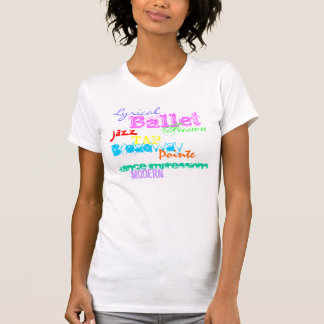 Dance Impressions Collage Shirts