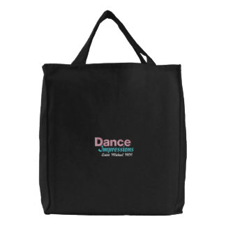 Dance Impressions Saint Michael Embroidered Tote Bag