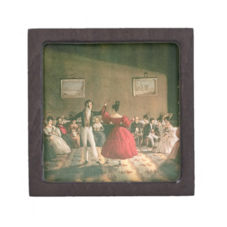 Dance in a Salon in Buenos Aires, c.1831 (w/c on p Jewelry Box