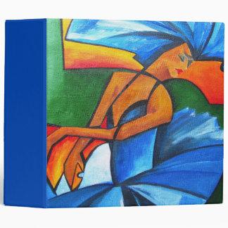 Dance in blue 2008 3 ring binder