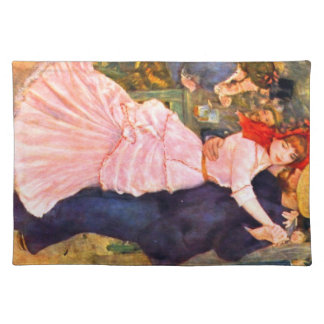 Dance in Bougival by Pierre Renoir Placemats