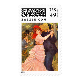 Dance in Bougival Stamp