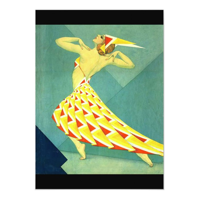 Dance in Deco Card