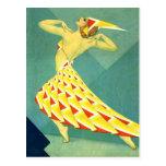 Dance in Deco Postcard