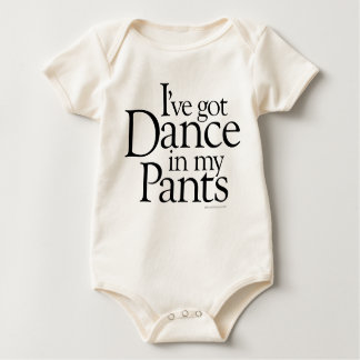 Dance In My Pants Baby Bodysuit