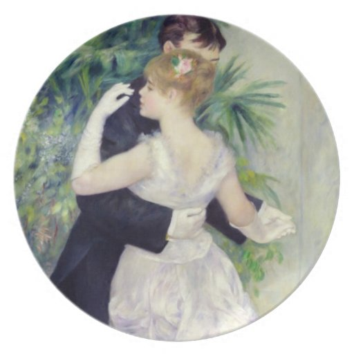 Dance in the City, 1883 Plate