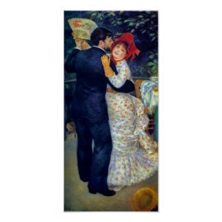 Dance in the Country by Renoir Fine Art Print