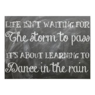 dance in the rain card