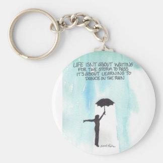 Dance In The Rain Key Chain