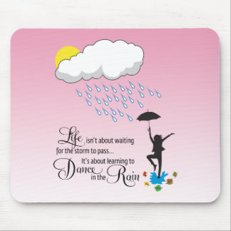 Dance in the Rain Mouse Pad