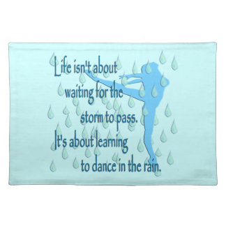 Dance in the Rain Placemat