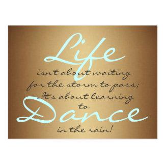 Dance in the Rain Postcards