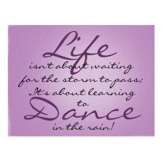 Dance in the Rain Post Card