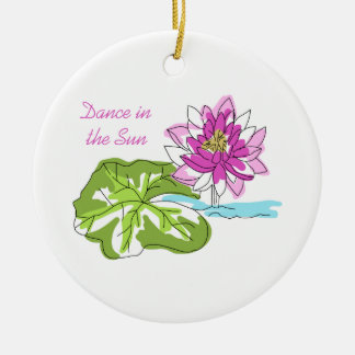 Dance In The Sun Ceramic Ornament