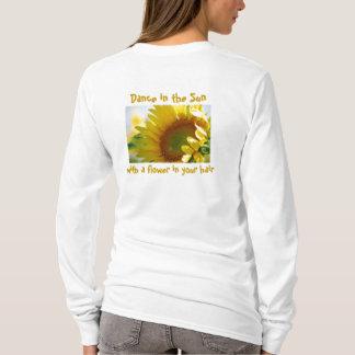 Dance in the Sun Sunflower Tee