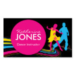 Dance Instructor Business Car Business Card Templates
