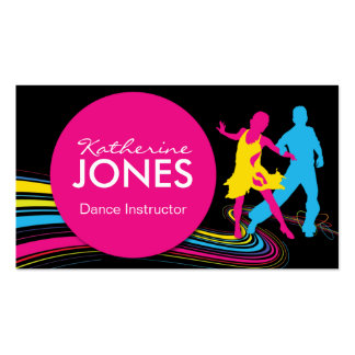 Dance Instructor Business Car Business Card