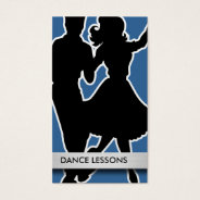 Dance Instructor Business Cards at Zazzle